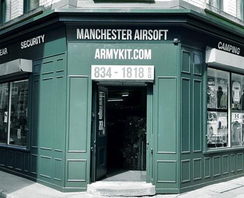 NEW CROSS ARMY STORE<br />MANCHESTER