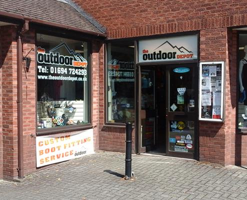 THE OUTDOOR DEPOT<br />SHROPSHIRE