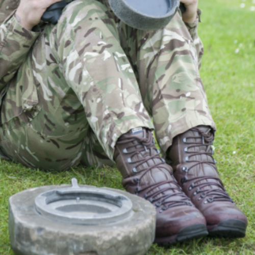UK MOD Issued Boot Fitting Advice