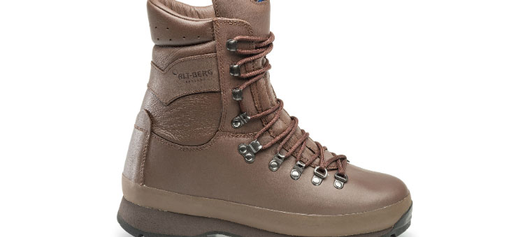 Full range of Altbergs military boots